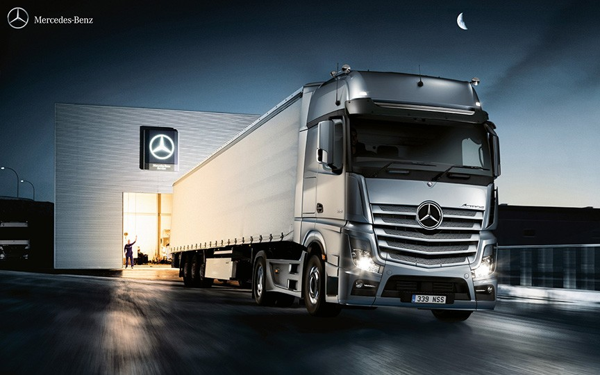 Mercedes trucks and mercedes truck parts at northside for Mercedes benz warehouse jobs
