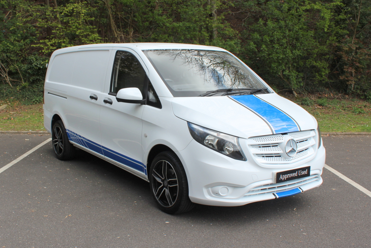 used approved used 2016 mercedes benz vito 111 long panel. Black Bedroom Furniture Sets. Home Design Ideas