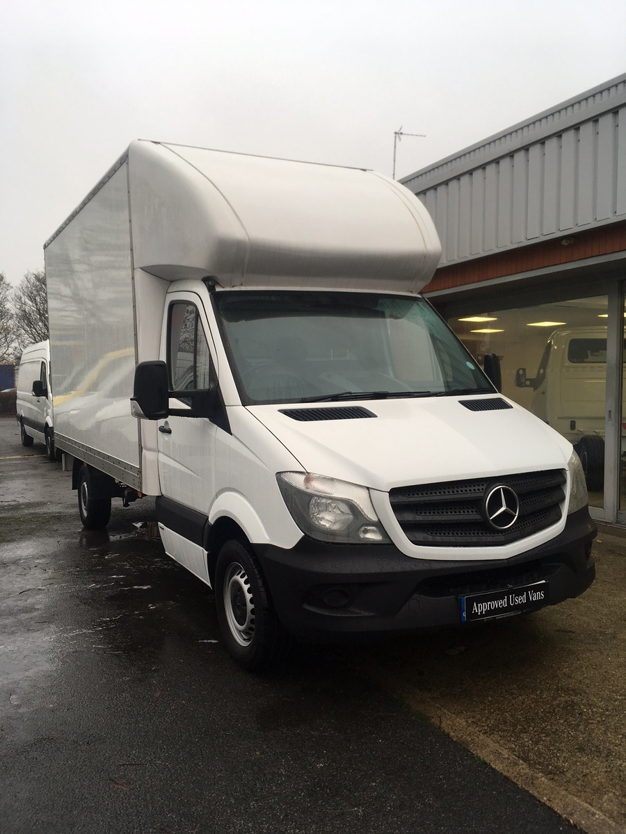2016 Mercedes Benz Sprinter 314 Chassis Cab Luton Body & Tail Lift