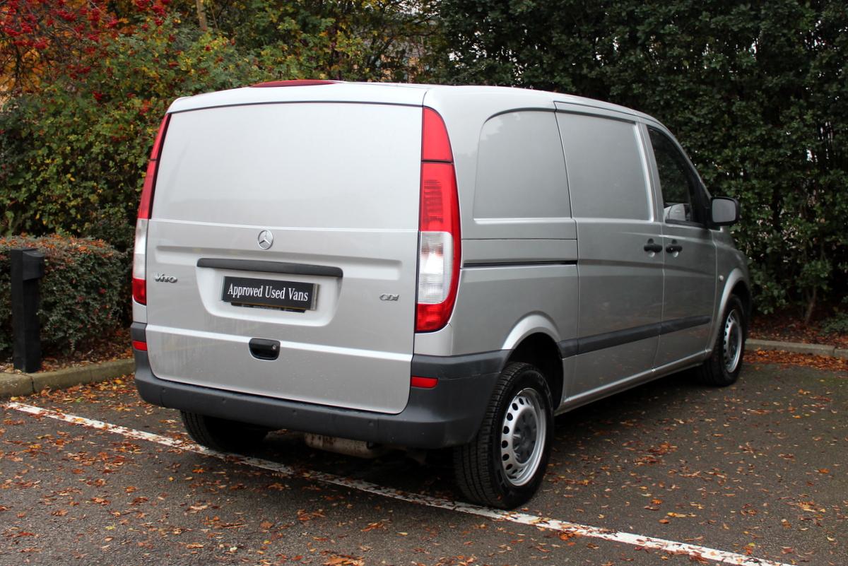 used 2014 mercedes benz vito 113 compact panel van van. Black Bedroom Furniture Sets. Home Design Ideas