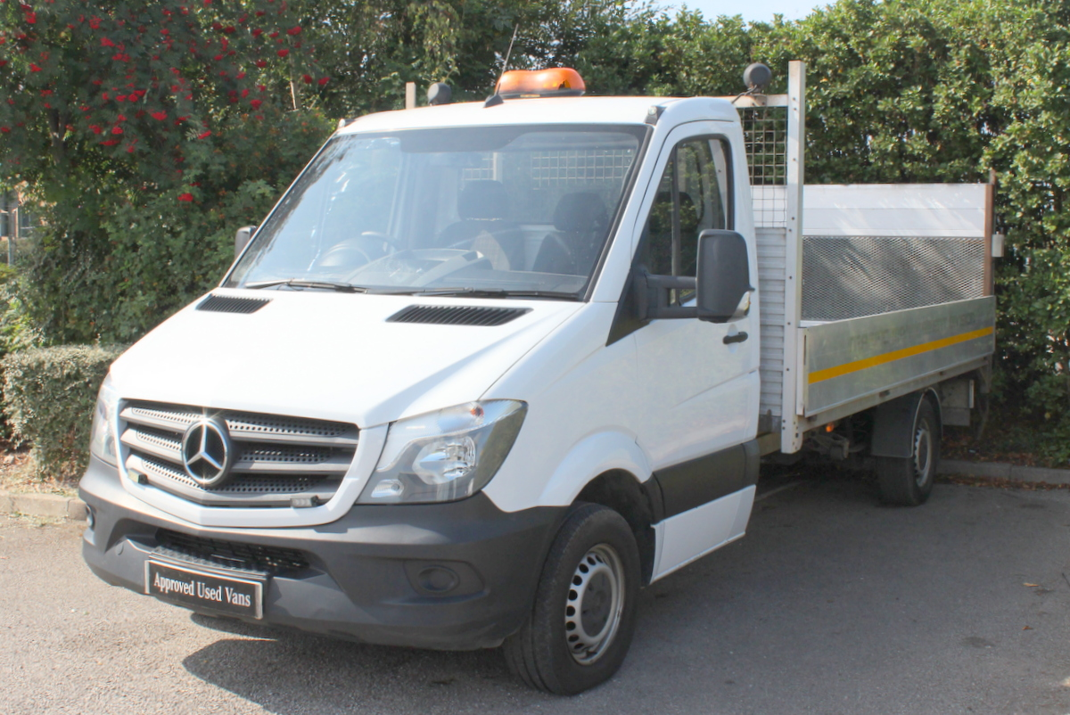 2014 Mercedes Benz Sprinter 313 Long Chassis Dropside