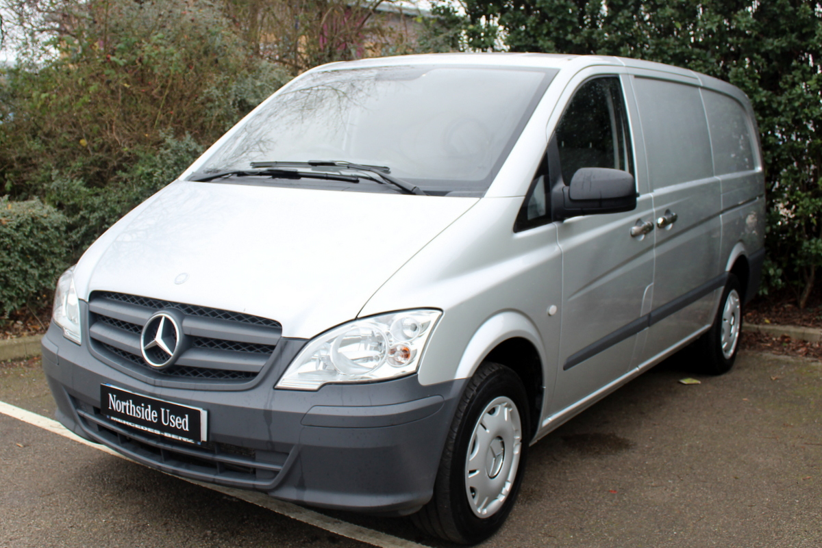 used 2015 mercedes benz vito 113 long panel van van. Black Bedroom Furniture Sets. Home Design Ideas