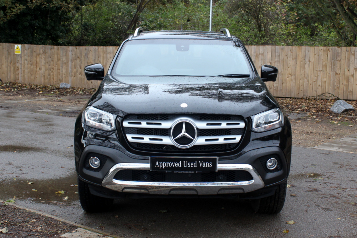 used approved used 2018 mercedes xclass x250d van. Black Bedroom Furniture Sets. Home Design Ideas