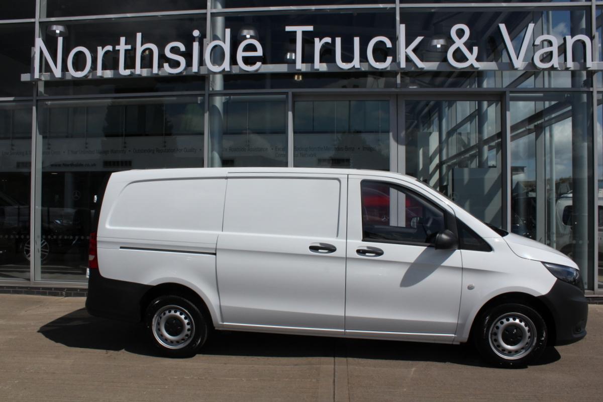 used 2018 mercedes benz vito 111 long panel van van. Black Bedroom Furniture Sets. Home Design Ideas