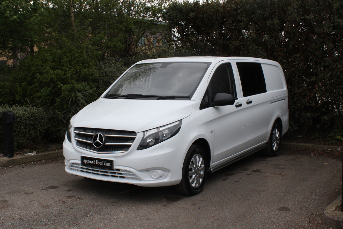 used approved used 2017 mercedes benz vito 114 crew van. Black Bedroom Furniture Sets. Home Design Ideas