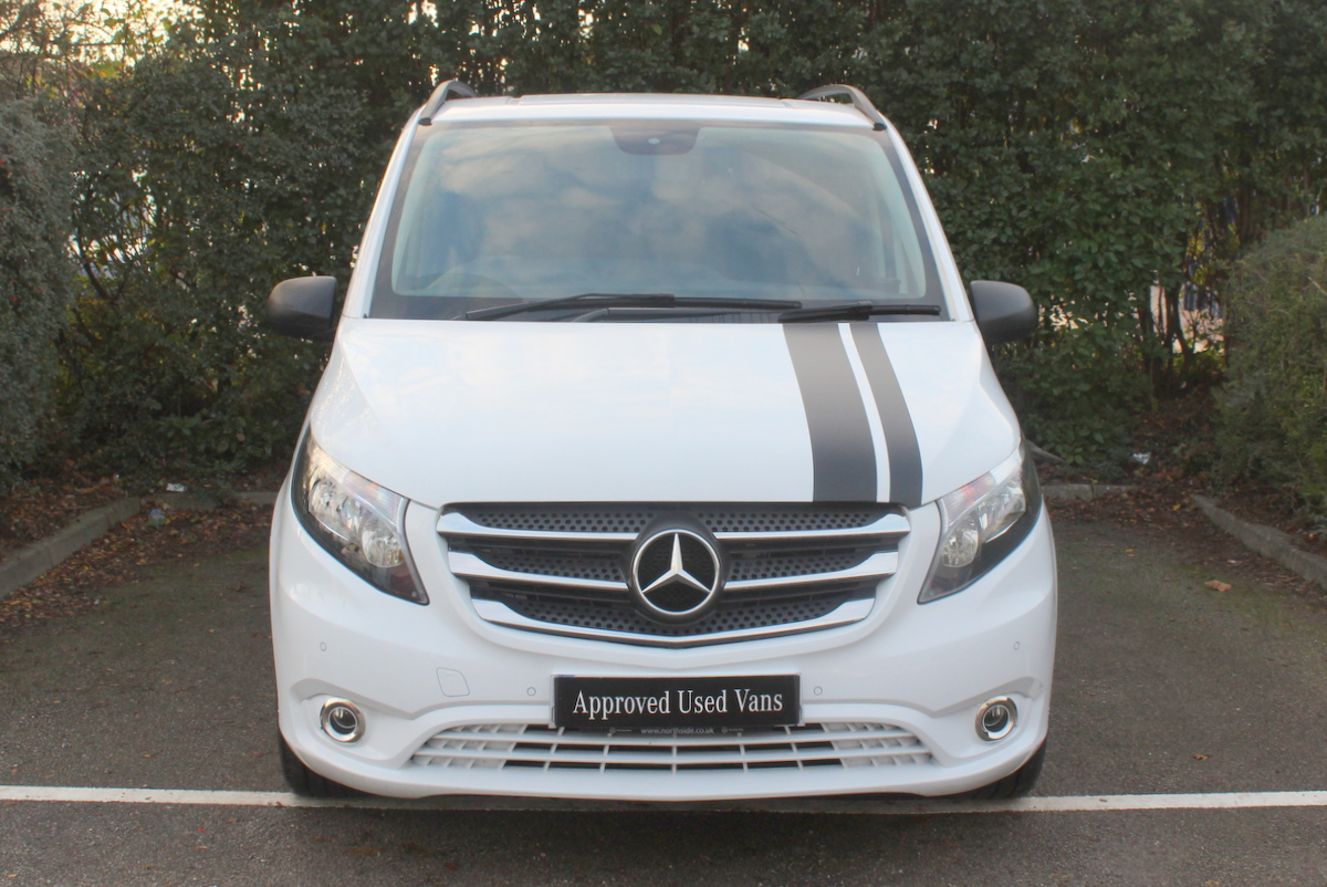 used approved used 2017 mercedes benz vito 119 crew van. Black Bedroom Furniture Sets. Home Design Ideas