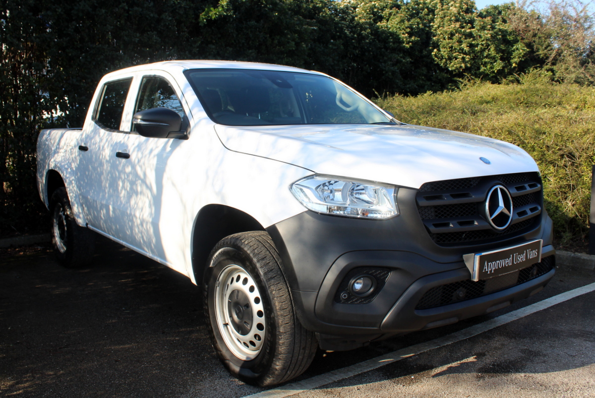 f23e0edef6 Used Approved Used 2018 Mercedes Benz X Class X220d Pure Van