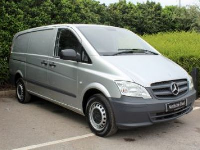 2014 Mercedes Benz Vito 113 Long Panel Van with Driver Pack