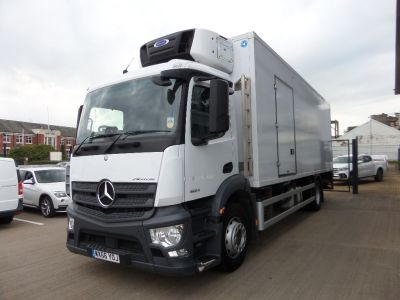 2016 Mercedes Benz Actros 1824L Rigid 4 x2