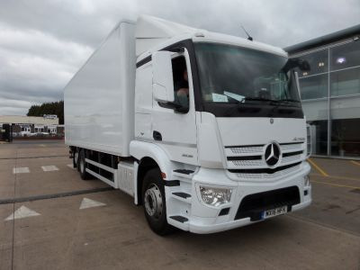 2016 Mercedes Benz Actros 2535 L ENA 6x2 Rigid