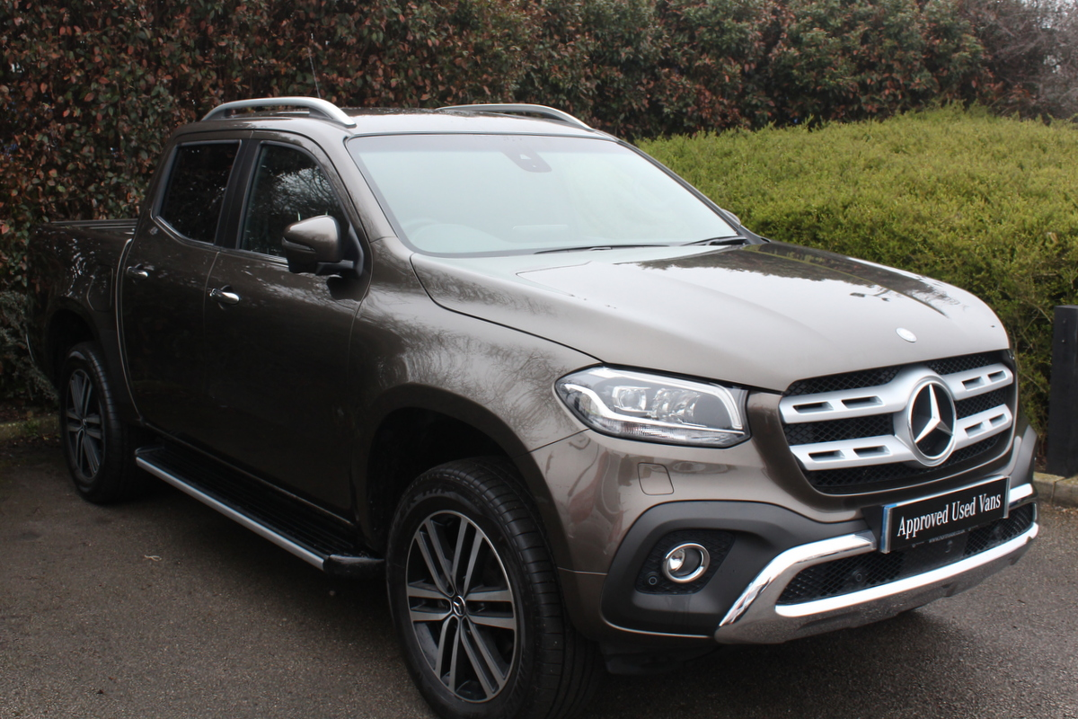 331215a914 Used Approved Used 2017 Mercedes Benz X-Class 250 Power Van