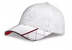 Men'S Baseball Cap - White
