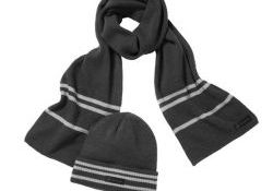 Mercedes-Benz Knitted Hat And Scarf