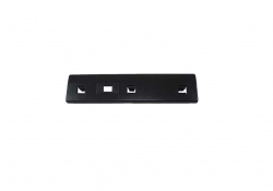 Black Top Rear Door Trim Lock Plate