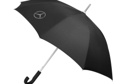 Genuine Mercedes-Benz Black Logo Umbrella