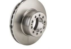 "Brake disks for Atego (new), Atego 1-3 17.5"" front axle"
