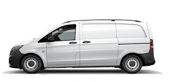 The New Mercedes Benz Vito Van At Northside Truck Van