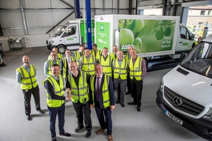 30ebf0c9ce Asda has extended its partnership with Mercedes-Benz Vans to help lay the  foundations for growth in its home shopping business.