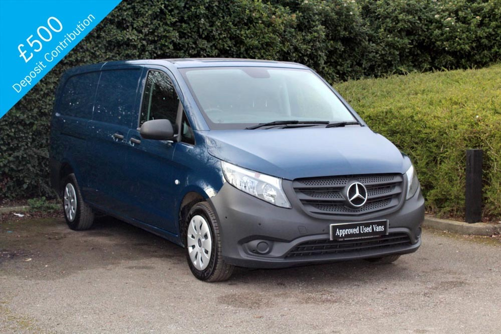 approved used van mercedes benz vito 111 cdi. Black Bedroom Furniture Sets. Home Design Ideas