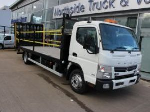 New Fuso Canter Flatbed with Beavertail