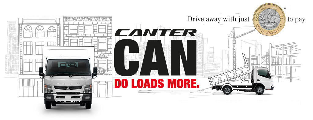 Fuso Canter Trucks for sale & in Stock | 3 5t to 8 5t | at Northside