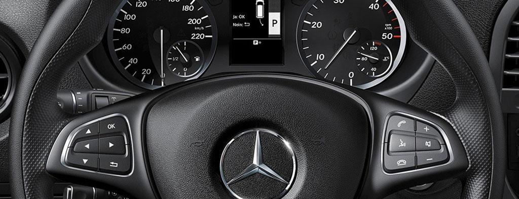 The new Mercedes-Benz Vito van at Northside Truck & Van